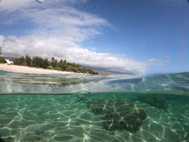 Plage de la Salines - the best beaches in Reunion Island