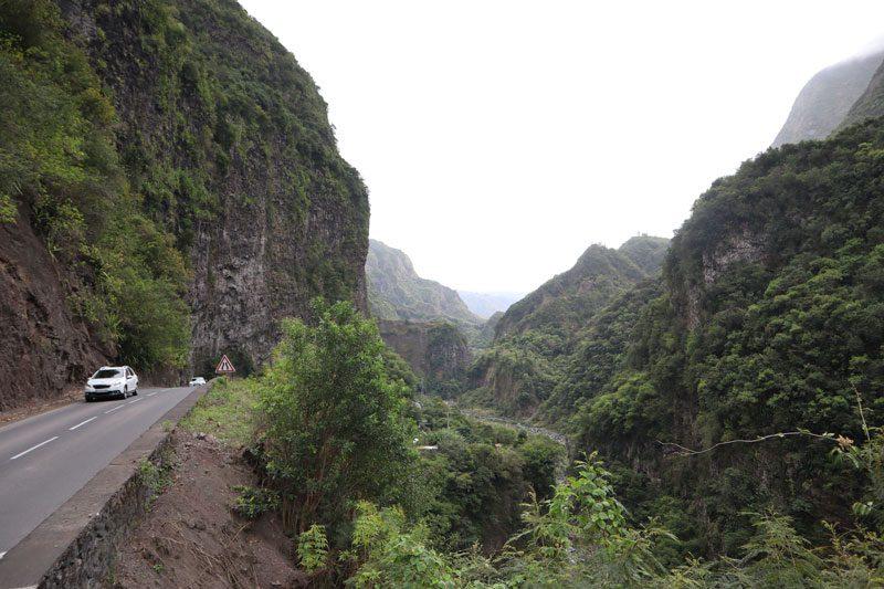 Scenic Drive to Cilaos Reunion Island
