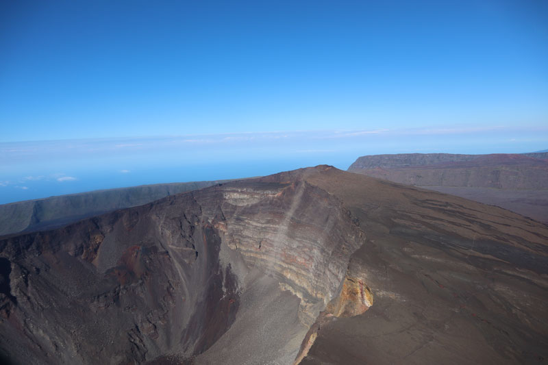 Scenic helicopter flight - Helilagon - Reunion Island - Dolomieu Crater