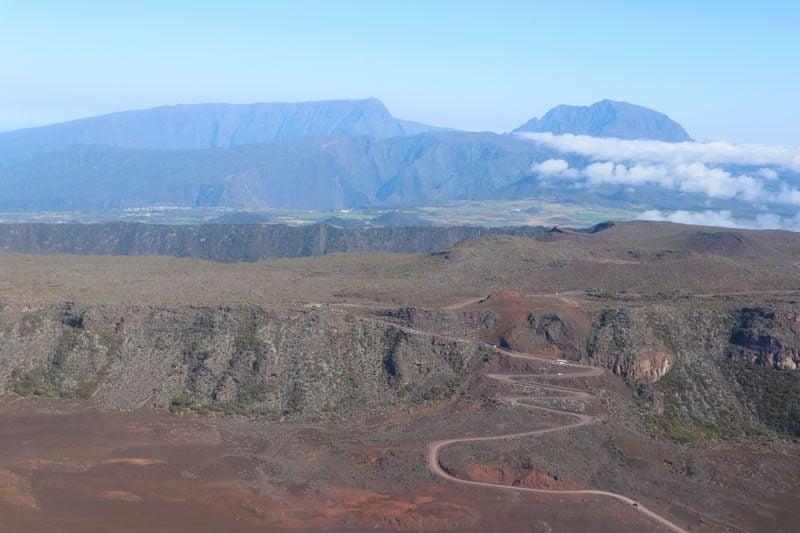 Scenic helicopter flight - Helilagon - Reunion Island - Piton de la Fournaise - pas des sables