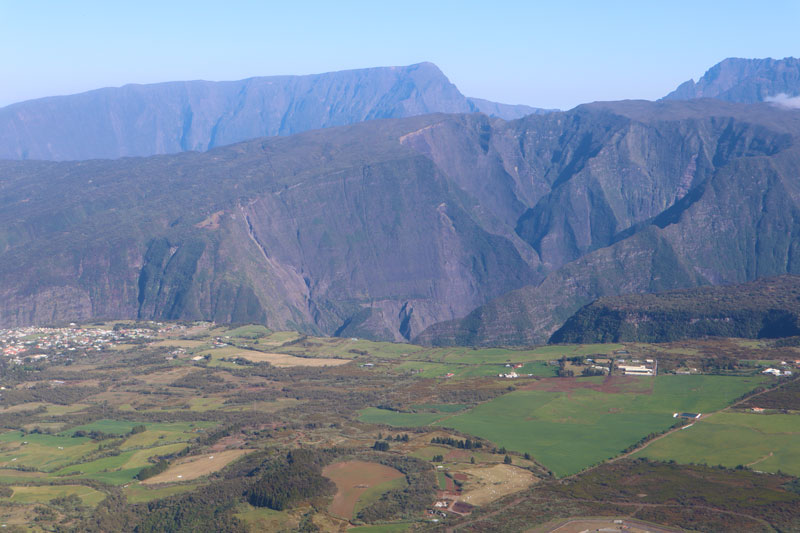 Scenic helicopter flight - Helilagon - Reunion Island - Plaine des Cafres