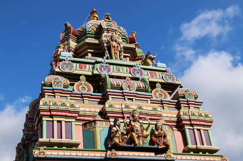 Siva Soupramanien Hindu temple - St Paul - Reunion Island