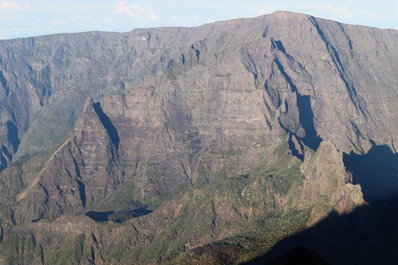 Summit of Piton des Neiges Hike - Reunion Island - rampart of cirque de cilaos