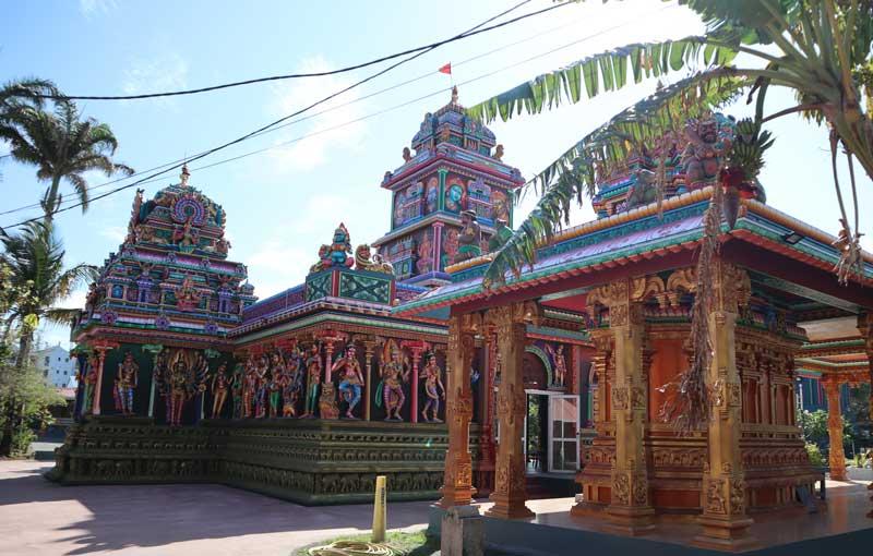 Tamoul Karli Tamil temple - St Pierre - Reunion Island