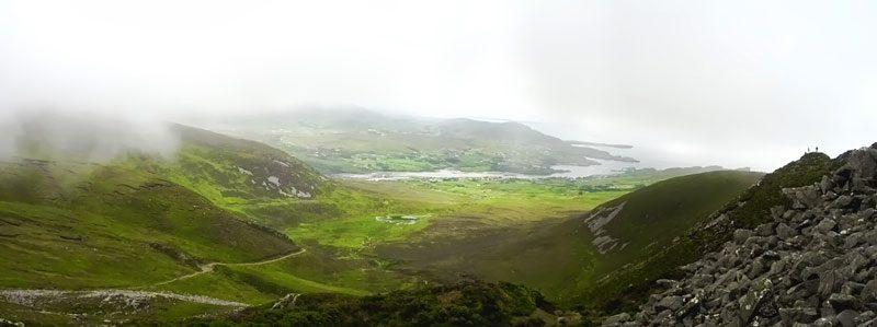Achill Island - Ireland - panoramic view
