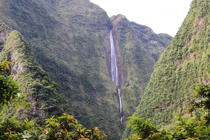 Cascade Blanche - cirque de Salazie - Reunion Island waterfall