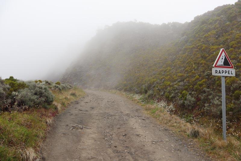 Col de Boeufs - hike to cirque de Mafate - Reunion Island