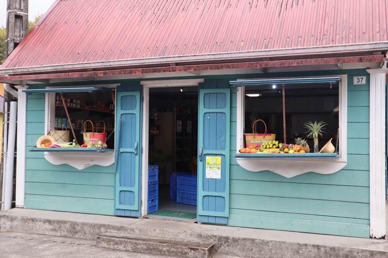 Creole architecture in - Hell-Bourg - Cirque de Salazie - Reunion Island