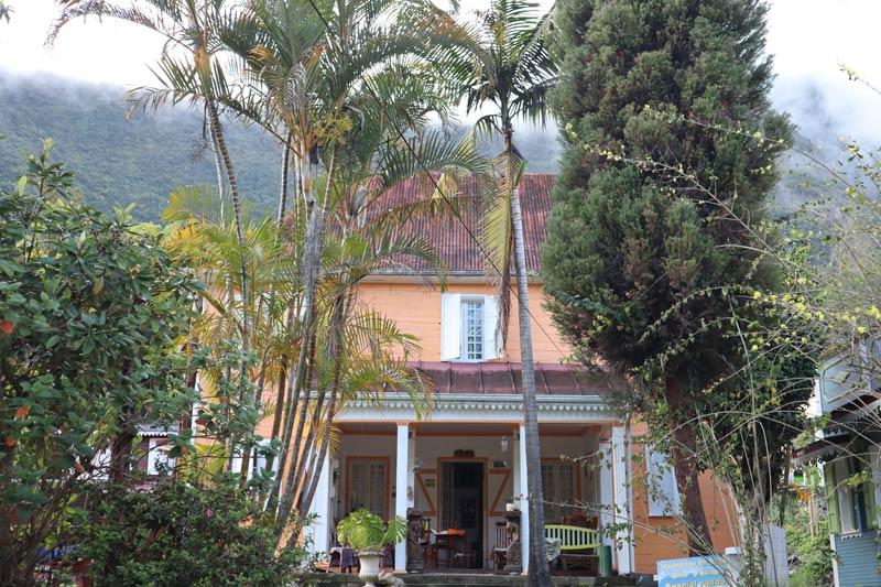 Creole mansion - Hell-Bourg - Cirque de Salazie - Reunion Island