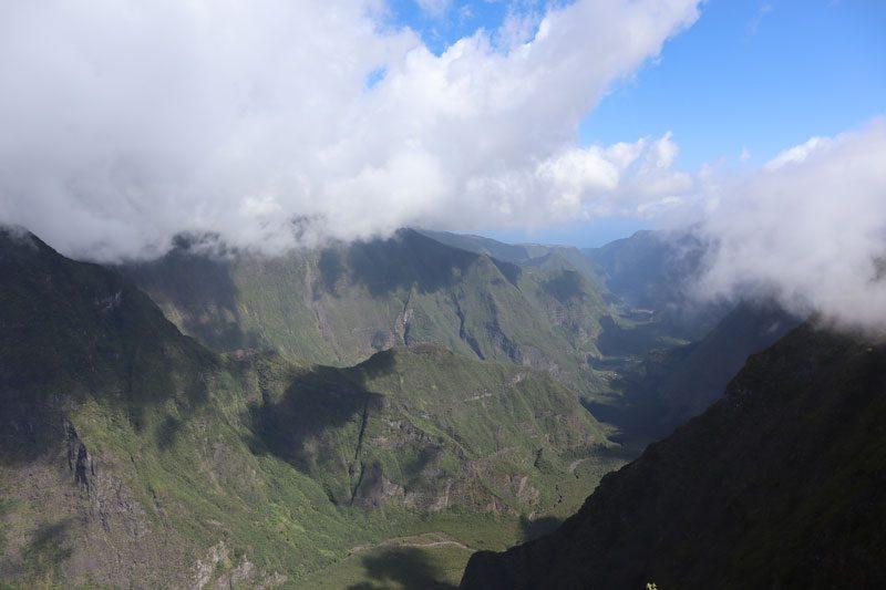 Nez de Boeuf scenic lookout = Reunion Island