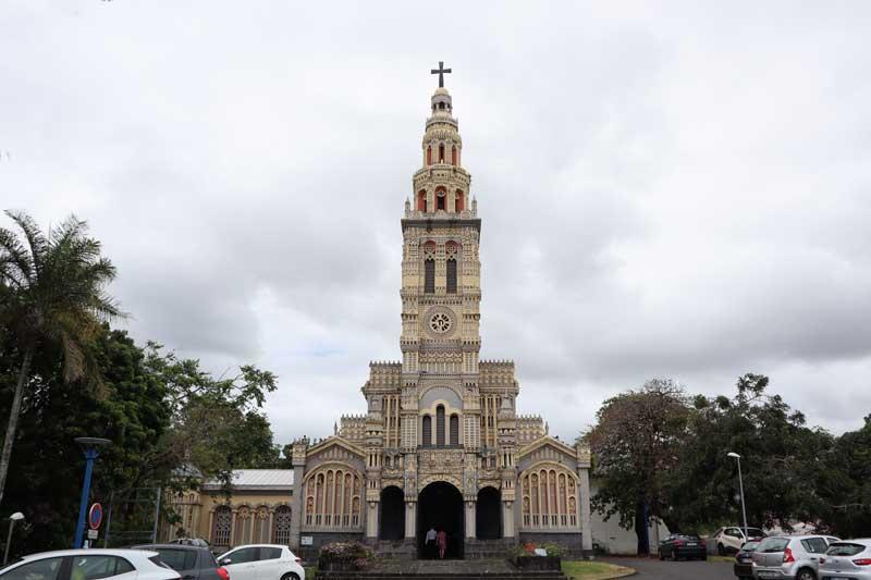 Sainte Anne's Church - Reunion Island road trip