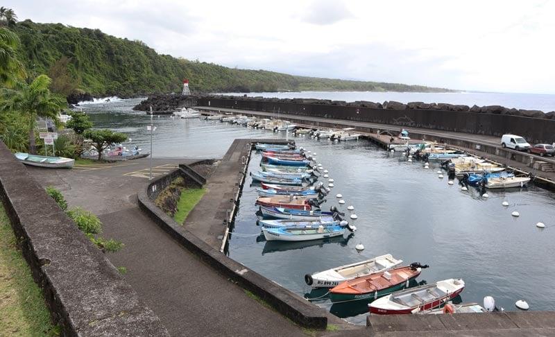 Sainte Rose harbor - Reunion Island