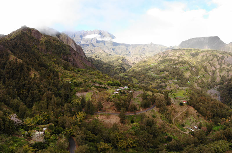 Scenic Drive to Grand Ilet - best scenic drives in Reunion Island