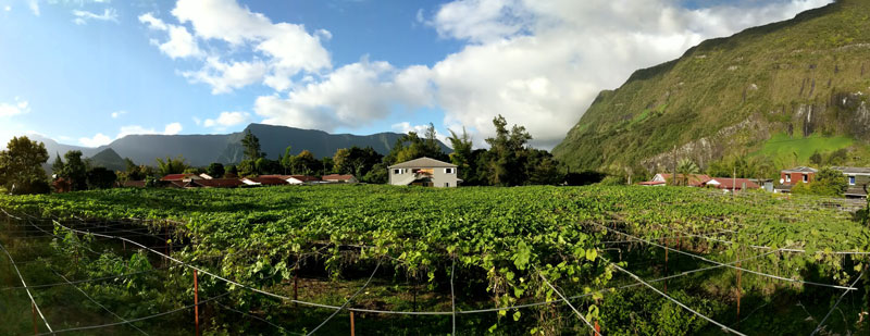 Where to Stay in Cirque de Salazie - panoramic view - Reunion Island