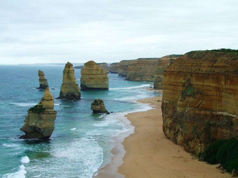 the twelve apostles - great ocean road - australia