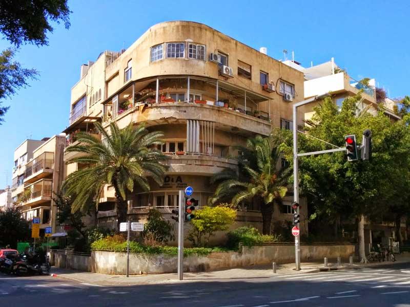 Bauhaus building in Tel Aviv - Israel