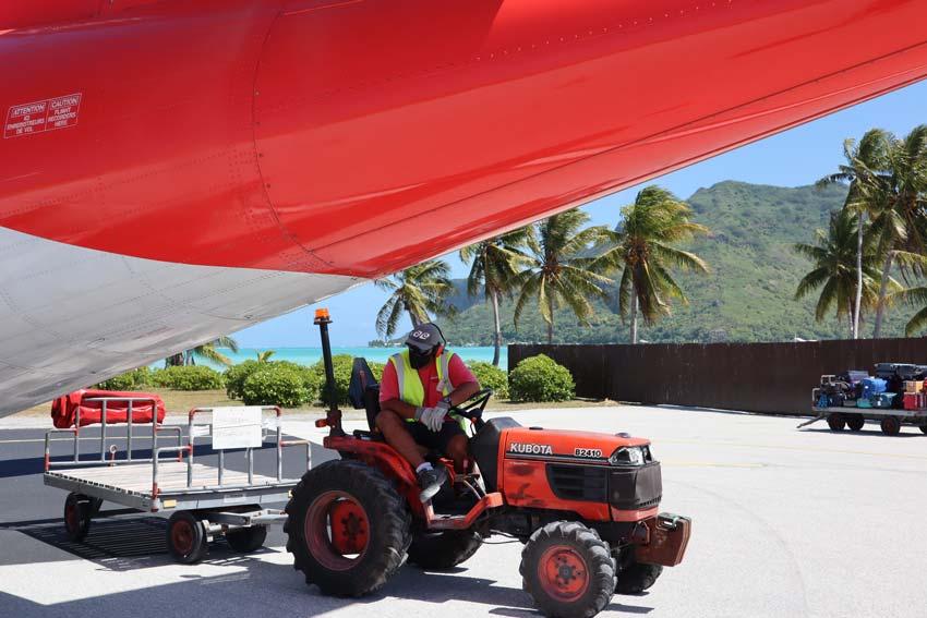 Maupiti airport French Polynesia