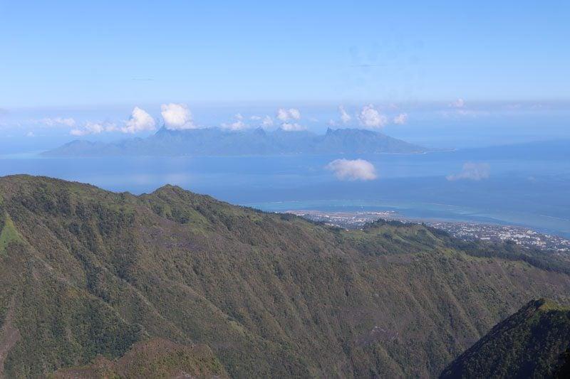 Mount Aorai Hike - Tahiti - French Polynesia - Moorea closeup