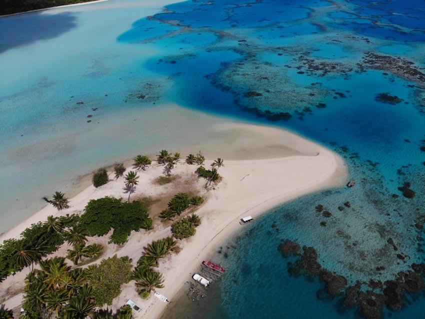 Tereia Beach Maupiti French Polynesia