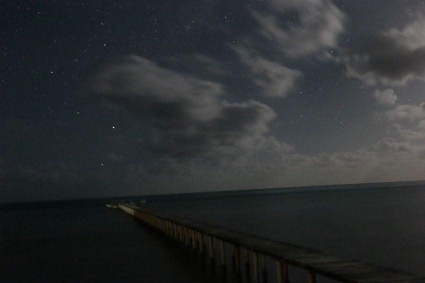night sky - Maupiti - French Polynesia