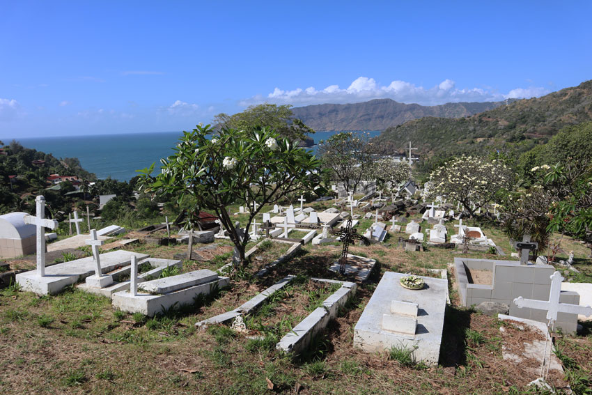 Calvary Cemetery - Hiva Oa - Marquesas Islands - French Polynesia