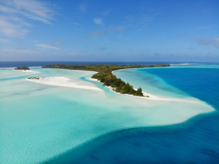 motu piscine - raivavae - austral islands - french polynesia