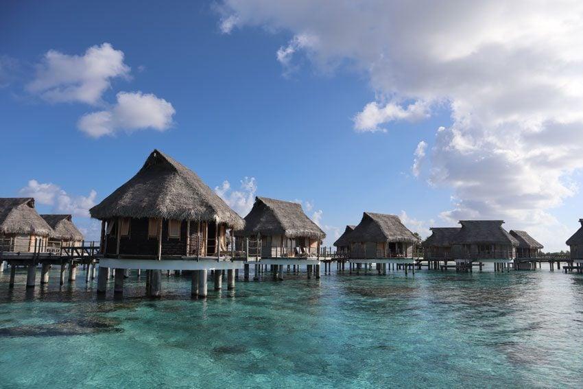 overwater bungalows in Tikehau Pearl Beach Resort - french polynesia