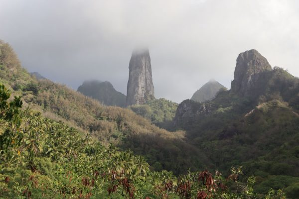 piton basalt pinnacle - Ua Pou - Marquesas Islands - French Polynesia