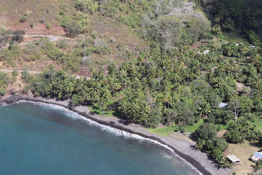 rocky beach - Hiva Oa - Marquesas Islands - French Polynesia