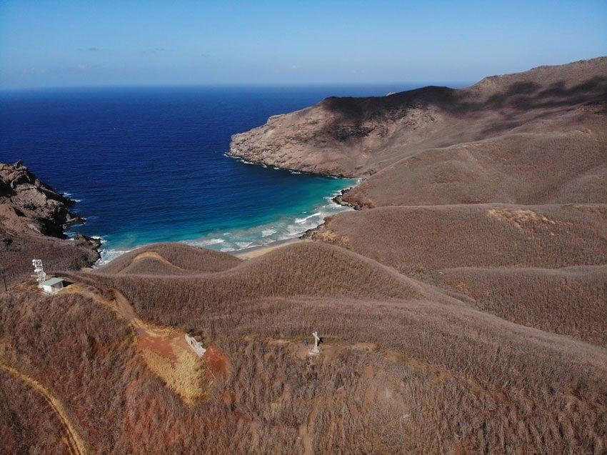wild beach 4 - hiking Hakamoui Loop - Ua Pou - Marquesas Islands - French Polynesia