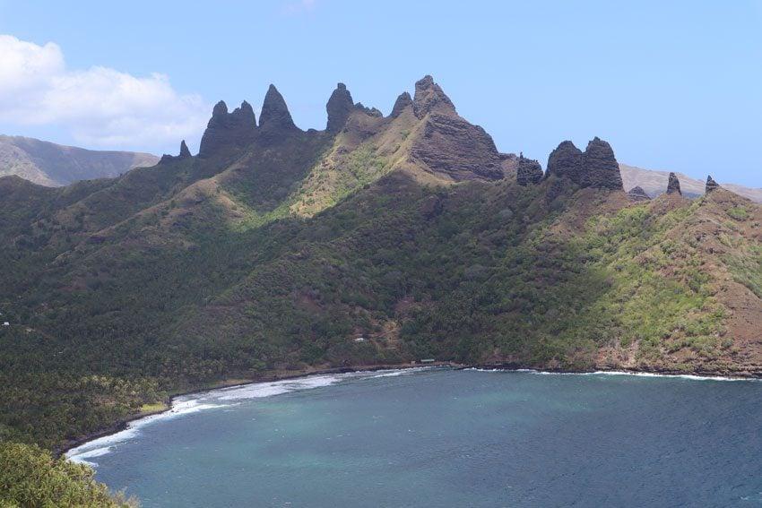 Aakapa Cliffs - nuku hiva - marquesas islands - french polynesia