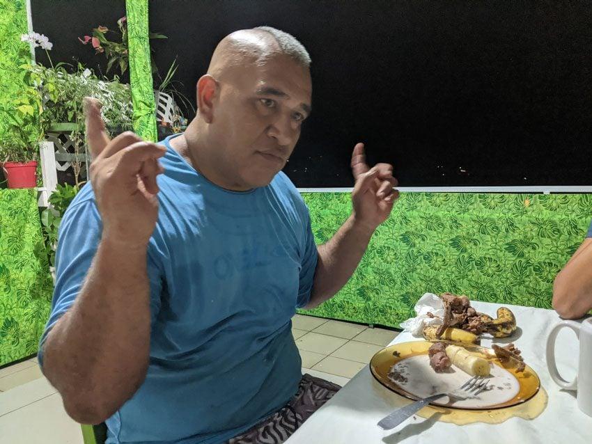 Alvane Alvarado pension kukuee - nuku hiva - marquesas islands - french polynesia