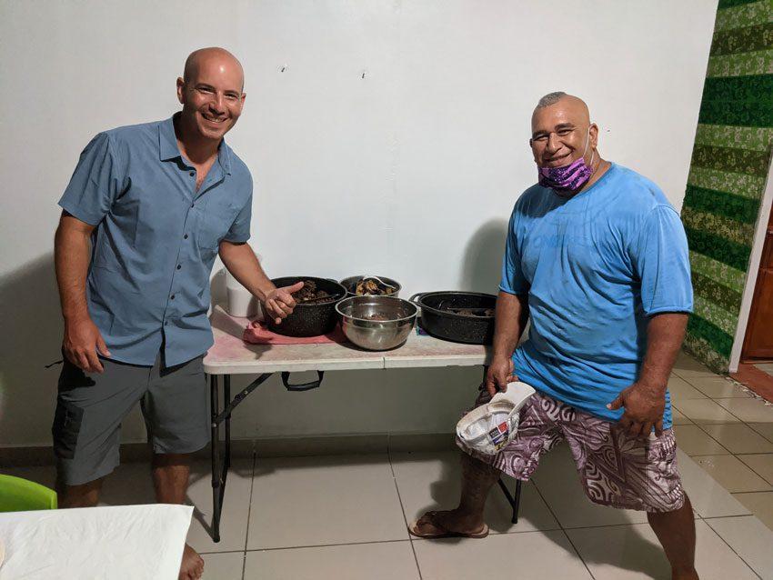 Alvane and me pension kukuee - nuku hiva - marquesas islands - french polynesia