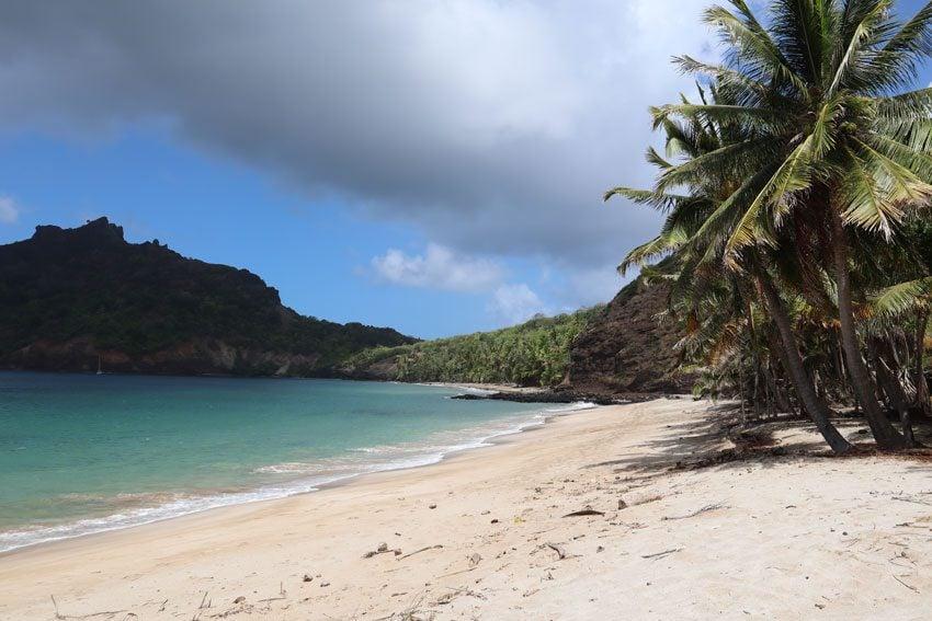 Anaho Bay beach 4 - nuku hiva - marquesas islands - french polynesia