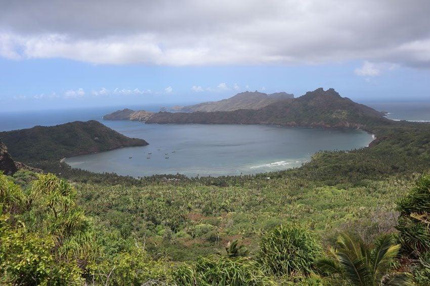 Anaho Bay - nuku hiva - marquesas islands - french polynesia