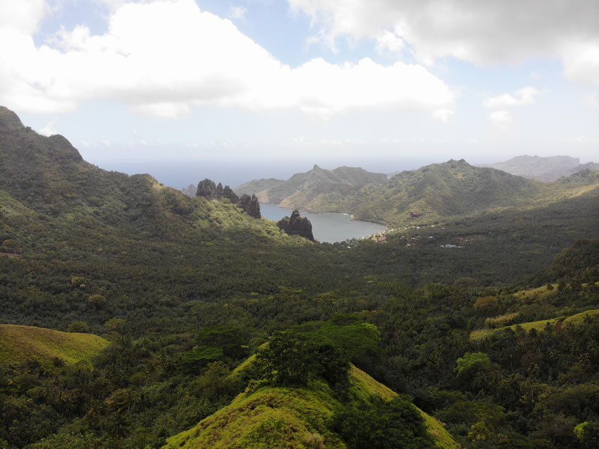 Hatiheu Lookout - nuku hiva - marquesas islands - french polynesia
