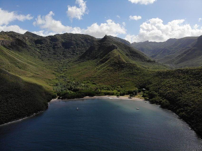 Survivor Marquesas beach location - nuku hiva - marquesas islands - french polynesia