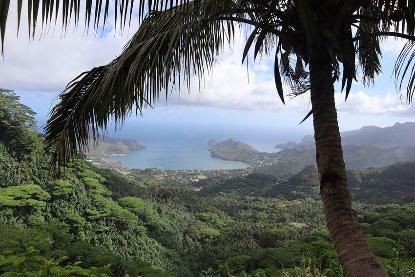 Taiohae lookout - nuku hiva - marquesas islands - french polynesia