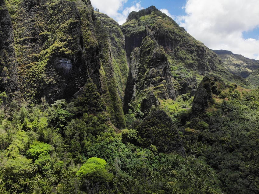 Vaipo Waterfall - Hakaui Valley - nuku hiva - marquesas islands - french polynesia