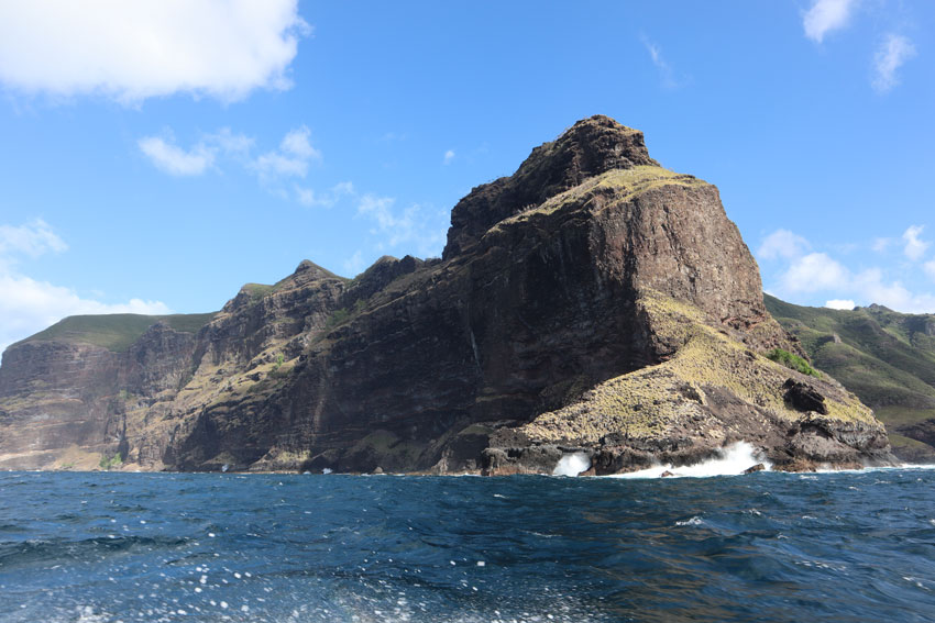 see cliffs on Hakaui Valley - nuku hiva - marquesas islands - french polynesia