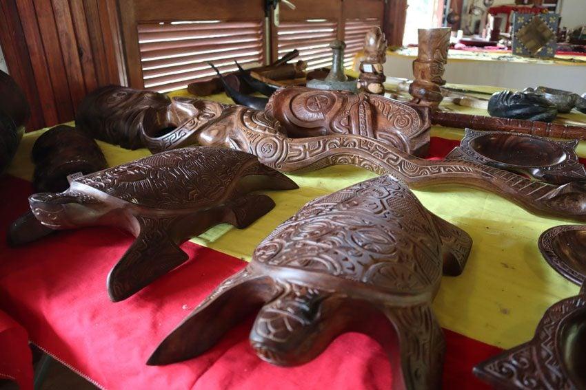 Taipivai crafts center - Nuku Hiva Marquesas Islands French Polynesia