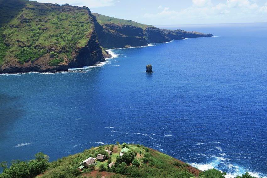 hike to Hanatekuua - Hiva Oa Marquesas Islands French Polynesia