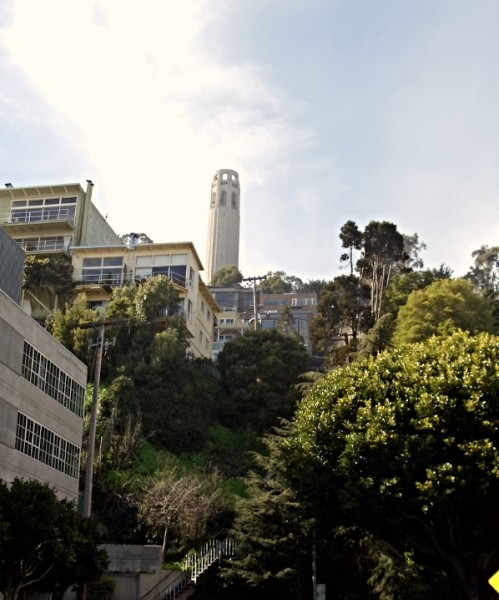 Greenwich Steps Coit Tower