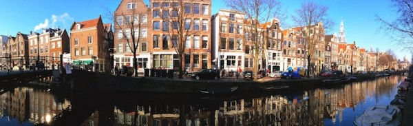Amsterdam old city canals