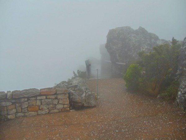 Table Mountain Fog