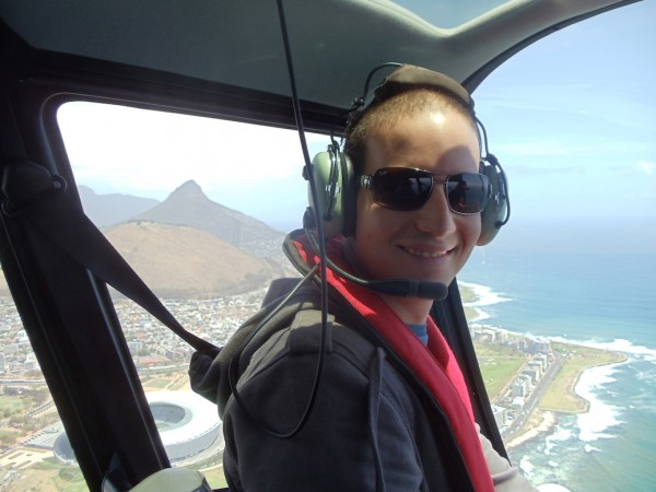 Helicopter Ride Cape Town