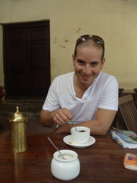 Spiced Coffee in Stone Town Zanzibar