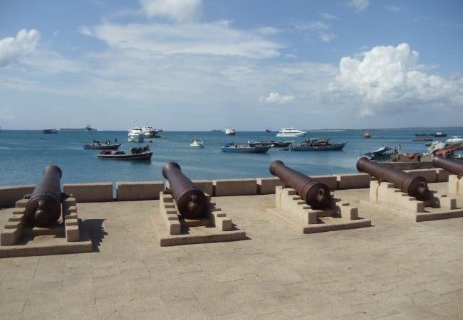 Stone Town Waterfront Zanzibar