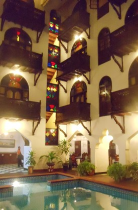 Dhow Palace Hotel Stone Town Zanzibar Travel