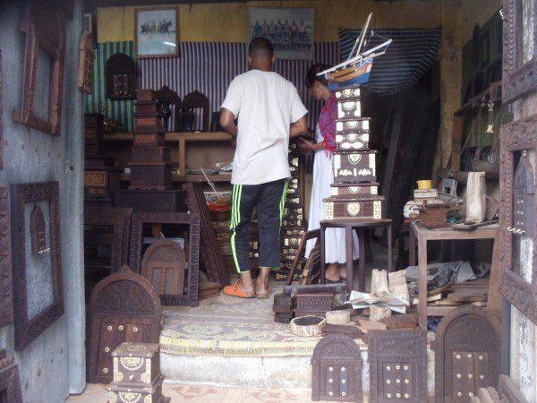 Zanzibar Souvenir Shop